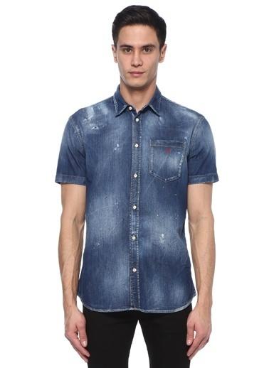 Dsquared2 Gömlek Mavi